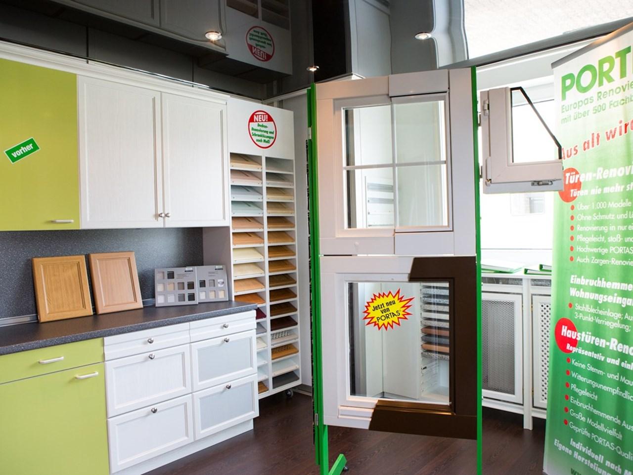 galerie portas partner nuss t ren k chen und. Black Bedroom Furniture Sets. Home Design Ideas