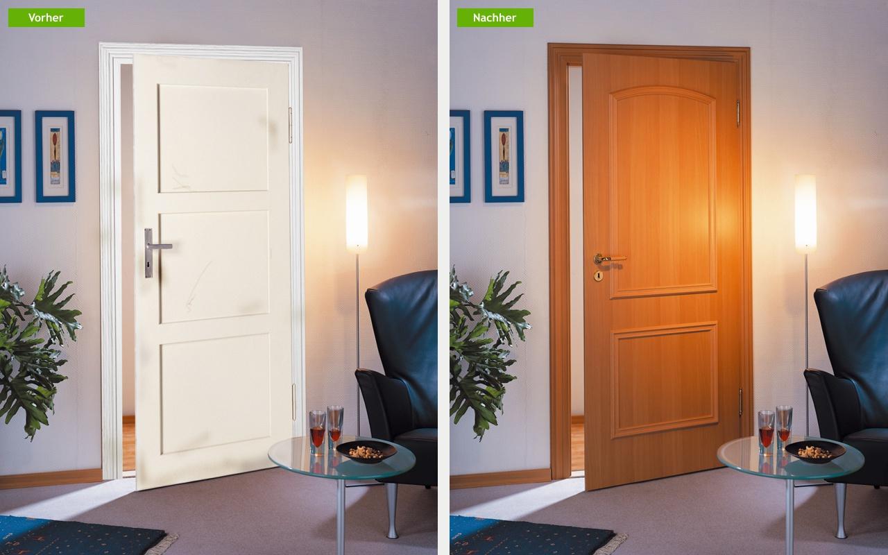 renovierungsl sungen portas partner nuss t ren k chen. Black Bedroom Furniture Sets. Home Design Ideas